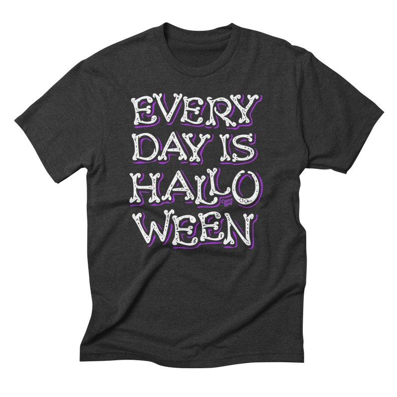 Every Day Is Halloween Men's T-Shirt by Casper Spell's Shop
