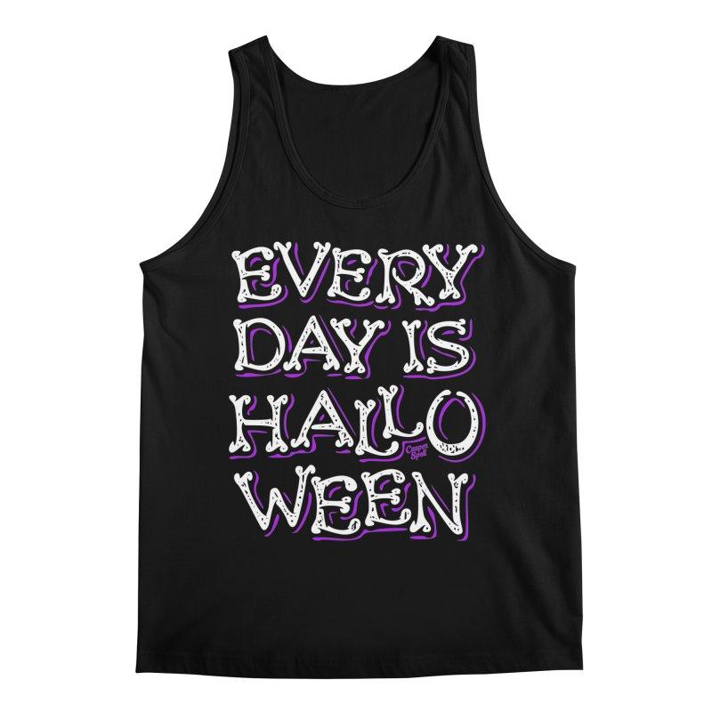 Every Day Is Halloween Men's Tank by Casper Spell's Shop