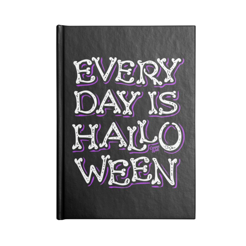 Every Day Is Halloween Accessories Notebook by Casper Spell's Shop