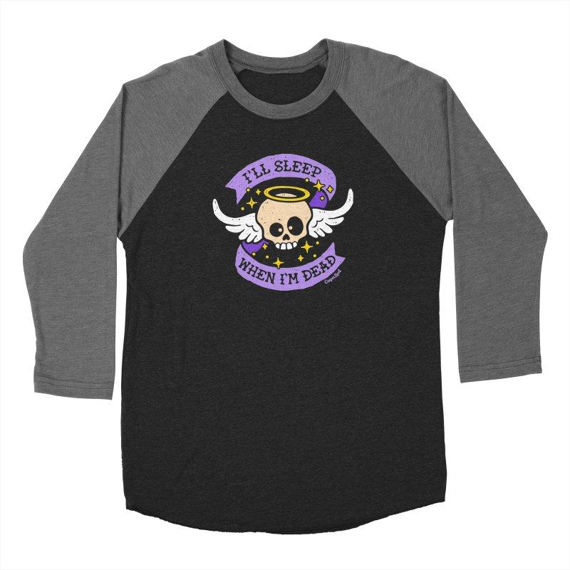 I'll Sleep When I'm Dead Men's Longsleeve T-Shirt by Casper Spell's Shop