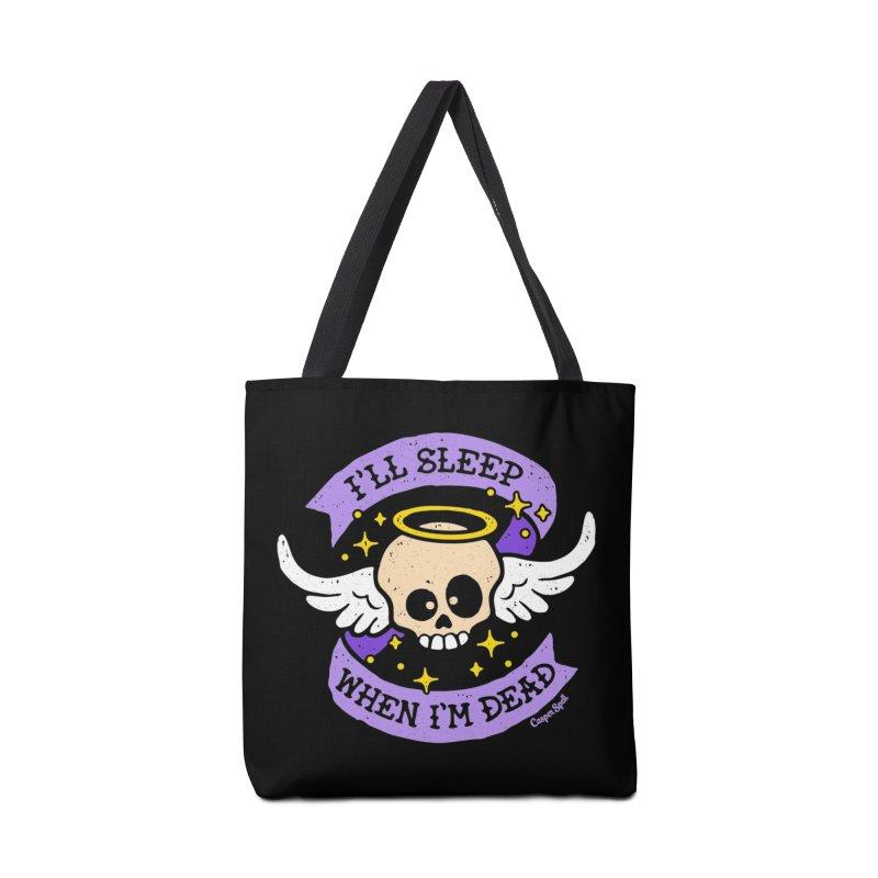 I'll Sleep When I'm Dead Accessories Bag by Casper Spell's Shop