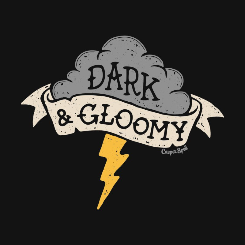 Dark and Gloomy Thunderstorm Cloud by Casper Spell's Shop