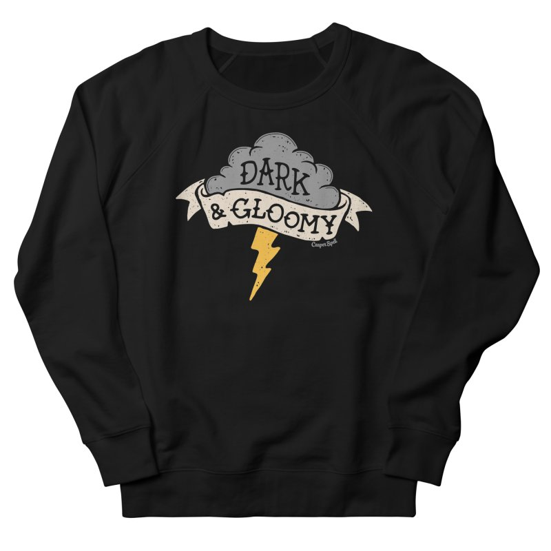 Dark and Gloomy Thunderstorm Cloud Men's Sweatshirt by Casper Spell's Shop