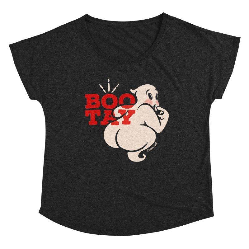 BooTay Ghost Women's Scoop Neck by Casper Spell's Shop