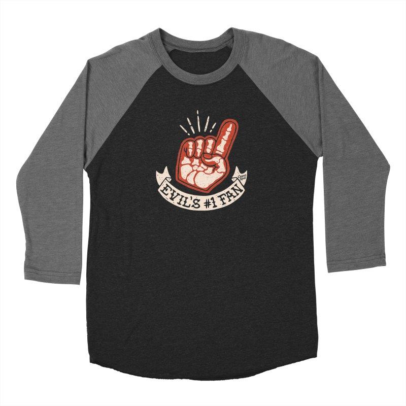 Evil's Number One Fan by Casper Spell Women's Longsleeve T-Shirt by Casper Spell's Shop