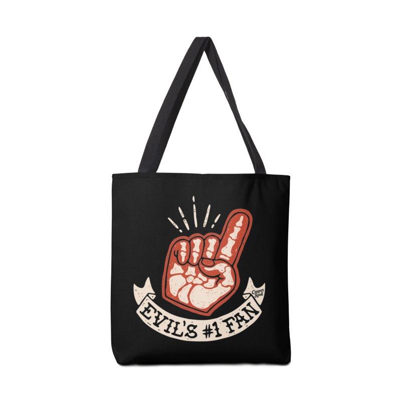 Evil's Number One Fan by Casper Spell Accessories Bag by Casper Spell's Shop