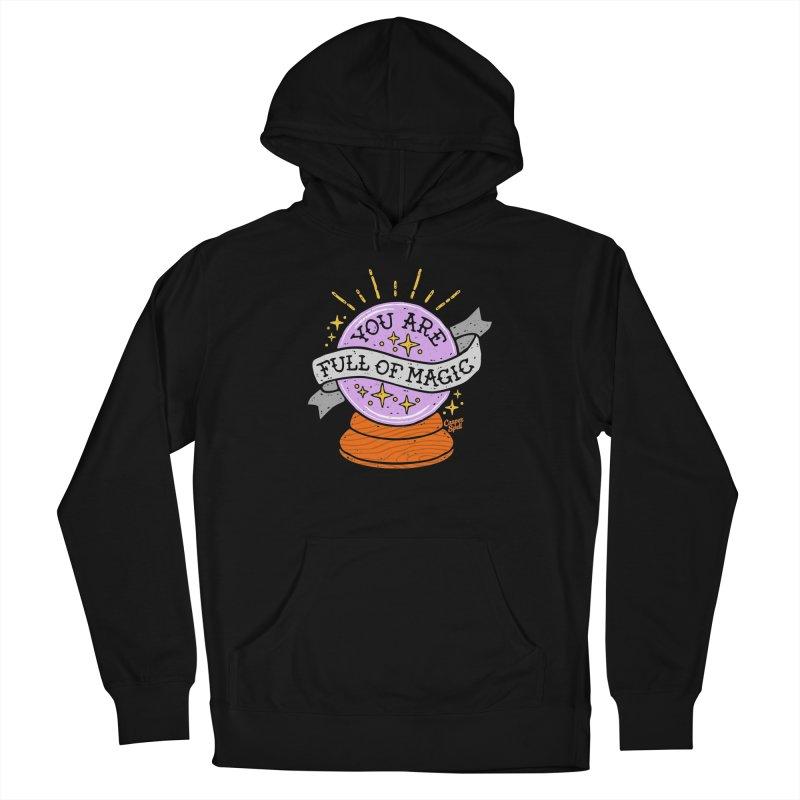 You Are Full of Magic Crystal Ball by Casper Spell Men's Pullover Hoody by Casper Spell's Shop