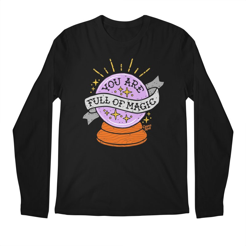 You Are Full of Magic Crystal Ball by Casper Spell Men's Longsleeve T-Shirt by Casper Spell's Shop