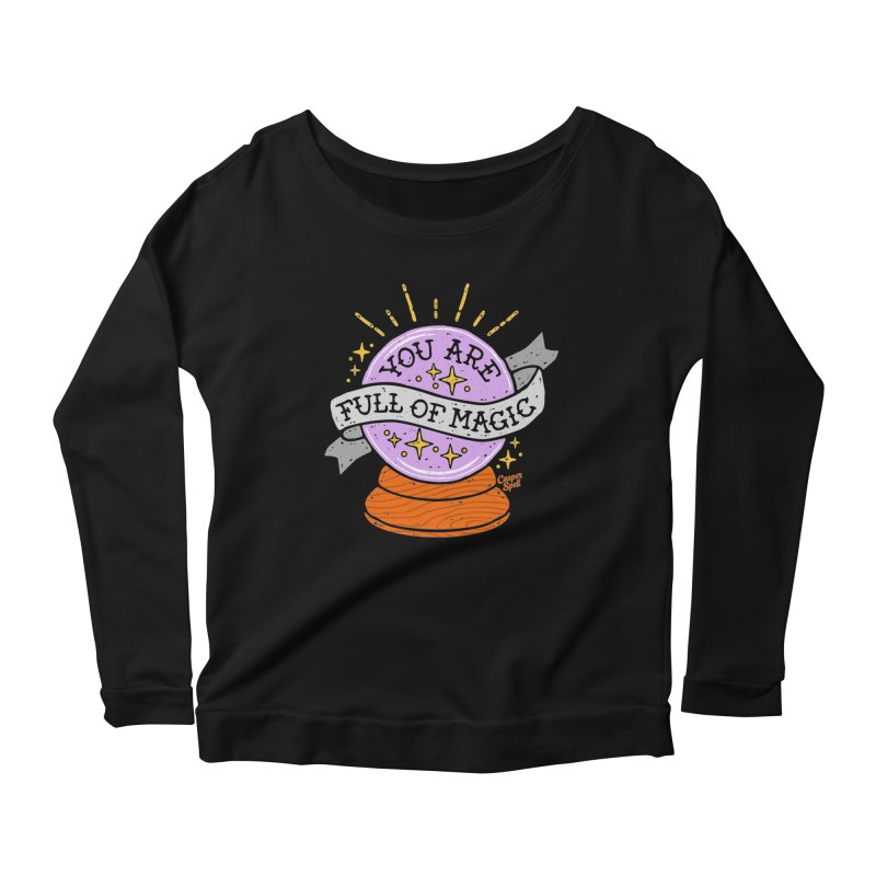You Are Full of Magic Crystal Ball by Casper Spell Women's Longsleeve T-Shirt by Casper Spell's Shop