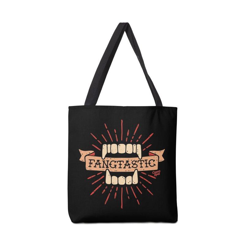 Vampire Fangs Fangtastic by Casper Spell Accessories Bag by Casper Spell's Shop