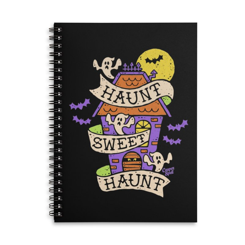 Haunt Sweet Haunt by Casper Spell Accessories Notebook by Casper Spell's Shop