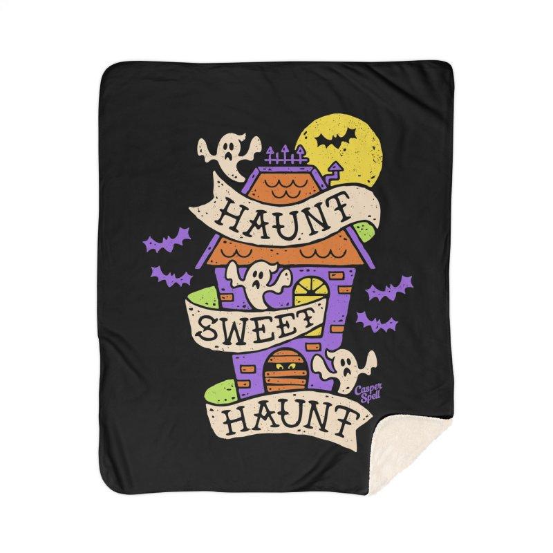 Haunt Sweet Haunt by Casper Spell Home Blanket by Casper Spell's Shop