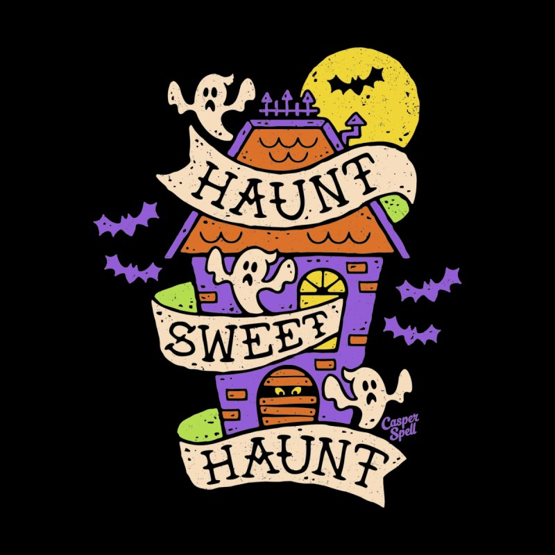 Haunt Sweet Haunt by Casper Spell Kids T-Shirt by Casper Spell's Shop