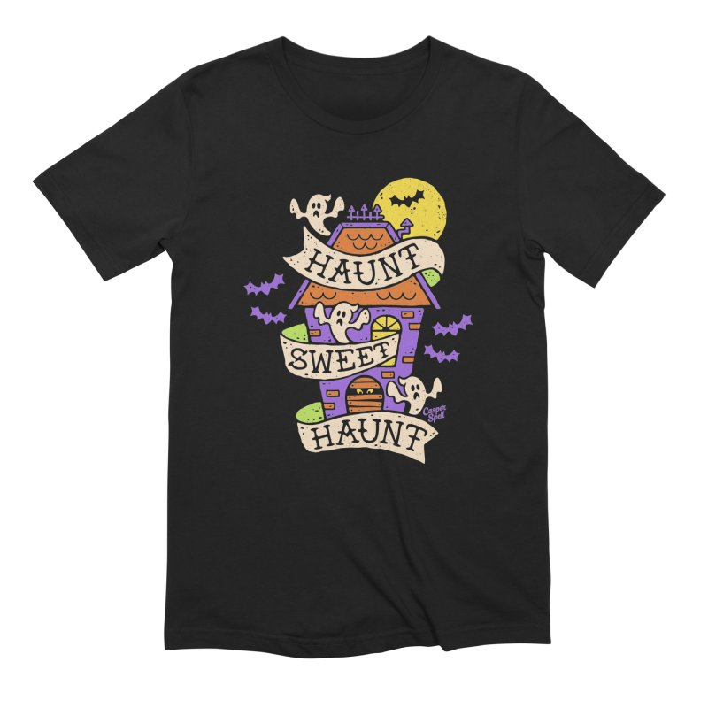 Haunt Sweet Haunt by Casper Spell Men's Extra Soft T-Shirt by Casper Spell's Shop