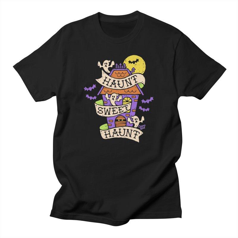 Haunt Sweet Haunt by Casper Spell Men's T-Shirt by Casper Spell's Shop