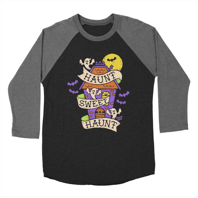 Haunt Sweet Haunt by Casper Spell Men's Baseball Triblend T-Shirt by Casper Spell's Shop