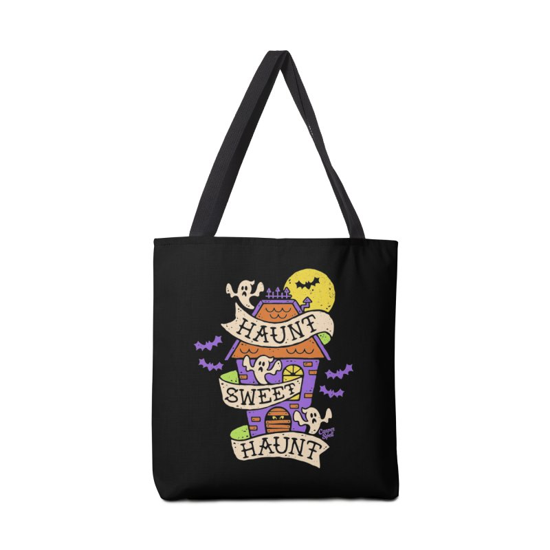 Haunt Sweet Haunt by Casper Spell Accessories Tote Bag Bag by Casper Spell's Shop
