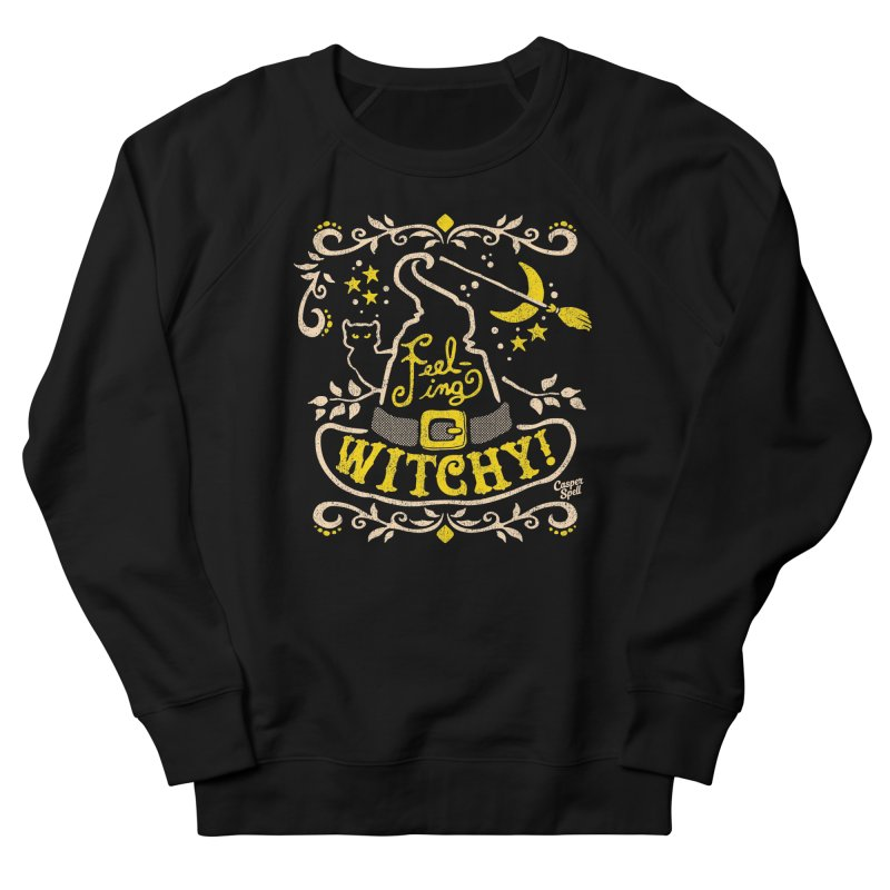 Feeling Witchy by Casper Spell Men's Sweatshirt by Casper Spell's Shop