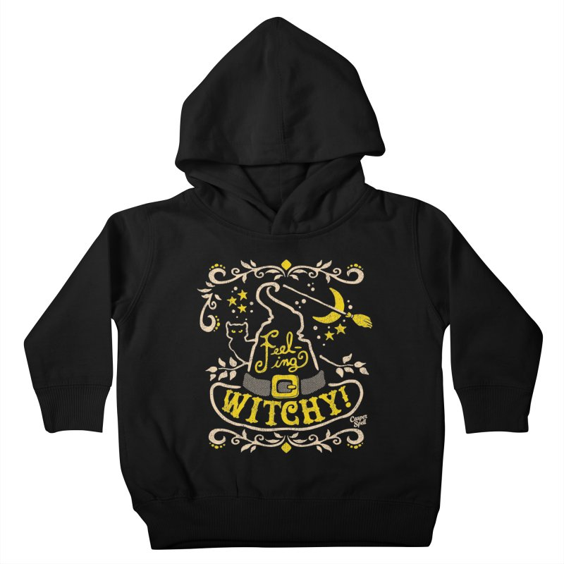Feeling Witchy by Casper Spell Kids Toddler Pullover Hoody by Casper Spell's Shop