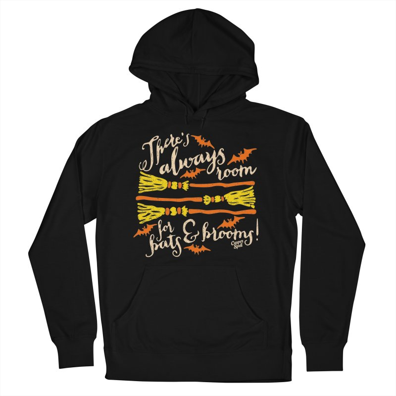 There's Always Room for Bats and Brooms Men's Pullover Hoody by Casper Spell's Shop