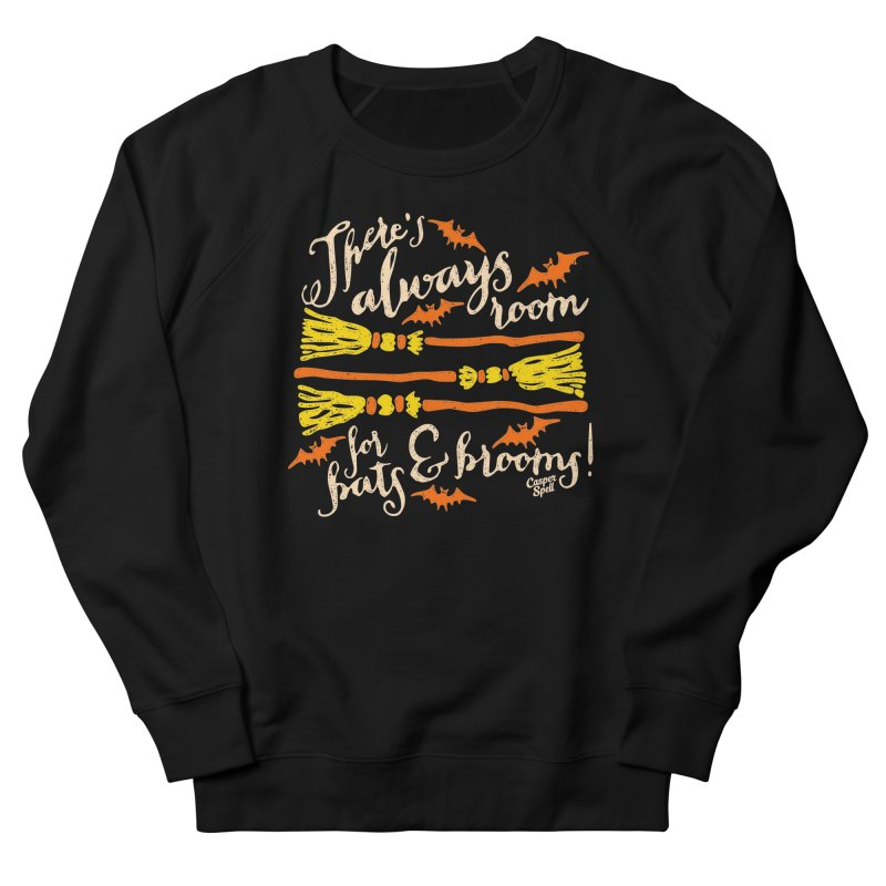 There's Always Room for Bats and Brooms Men's Sweatshirt by Casper Spell's Shop