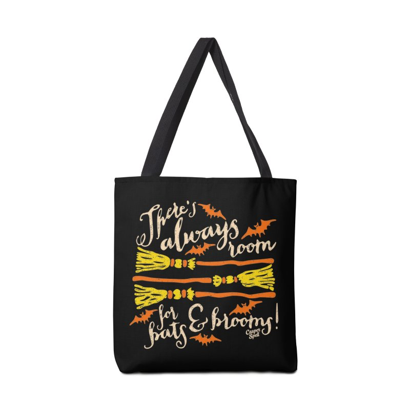 There's Always Room for Bats and Brooms Accessories Bag by Casper Spell's Shop