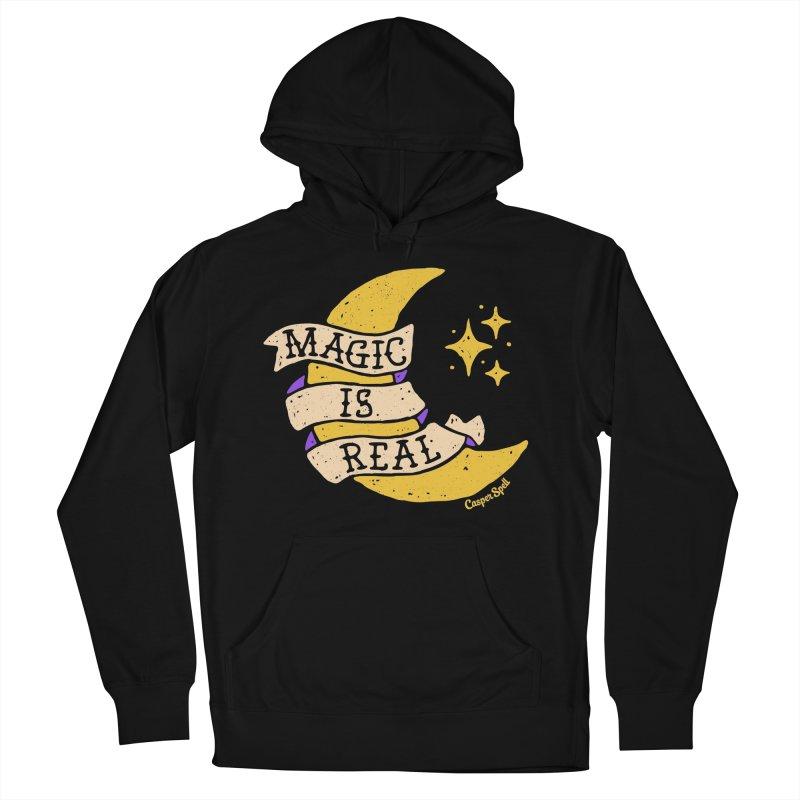 Magic Is Real by Casper Spell Women's Pullover Hoody by Casper Spell's Shop