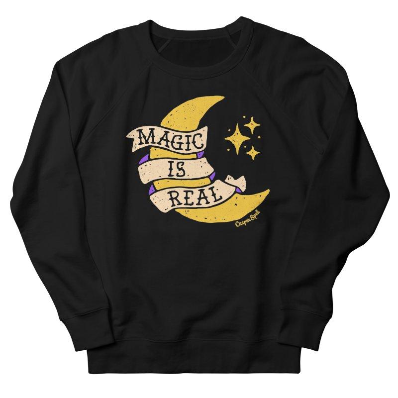 Magic Is Real by Casper Spell Men's Sweatshirt by Casper Spell's Shop