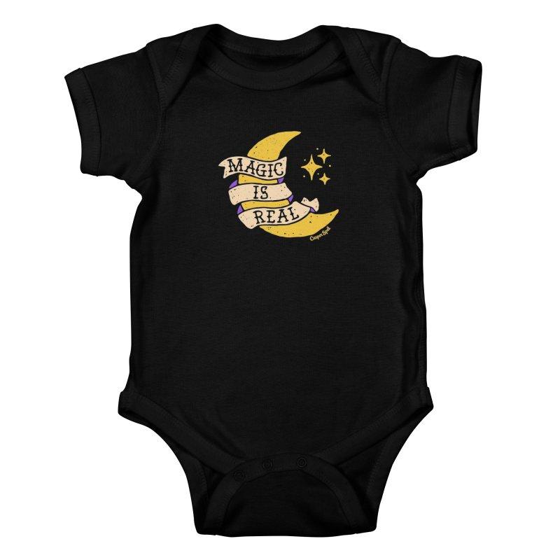 Magic Is Real by Casper Spell Kids Baby Bodysuit by Casper Spell's Shop
