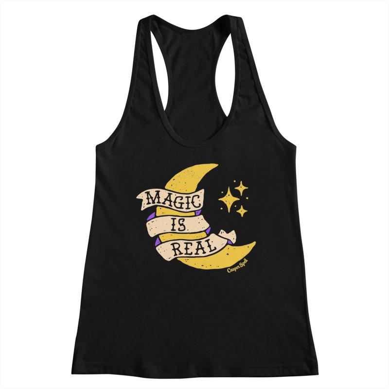 Magic Is Real by Casper Spell Women's Tank by Casper Spell's Shop
