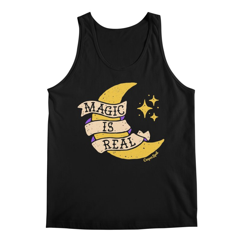 Magic Is Real by Casper Spell Men's Tank by Casper Spell's Shop