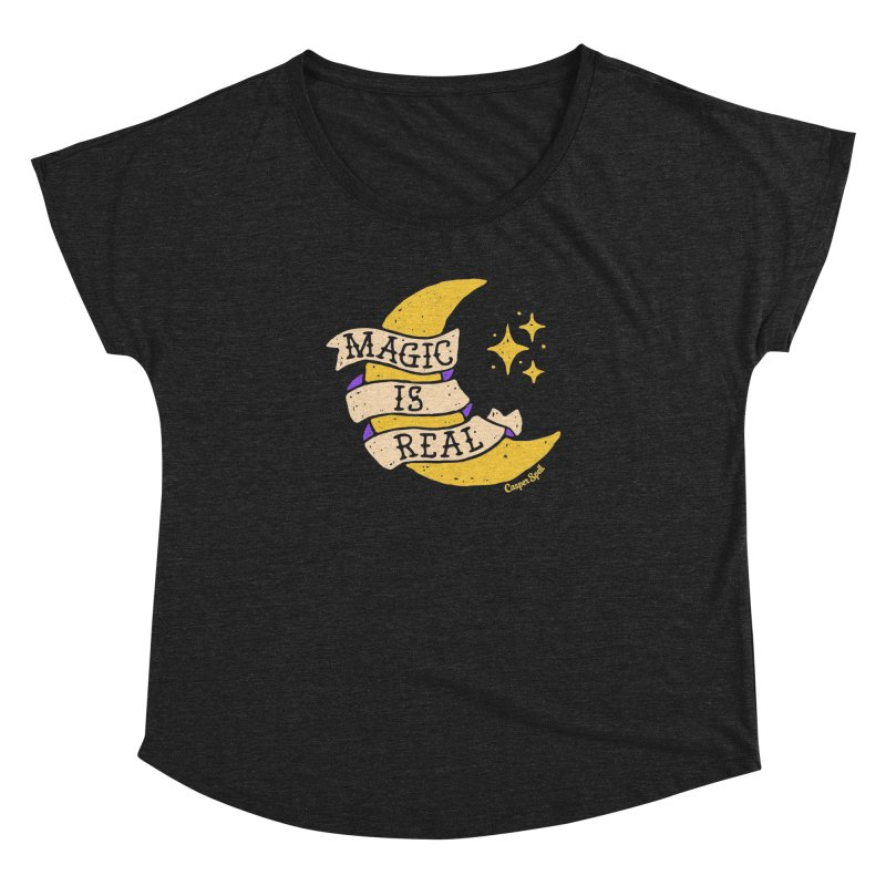 Magic Is Real by Casper Spell Women's Dolman by Casper Spell's Shop