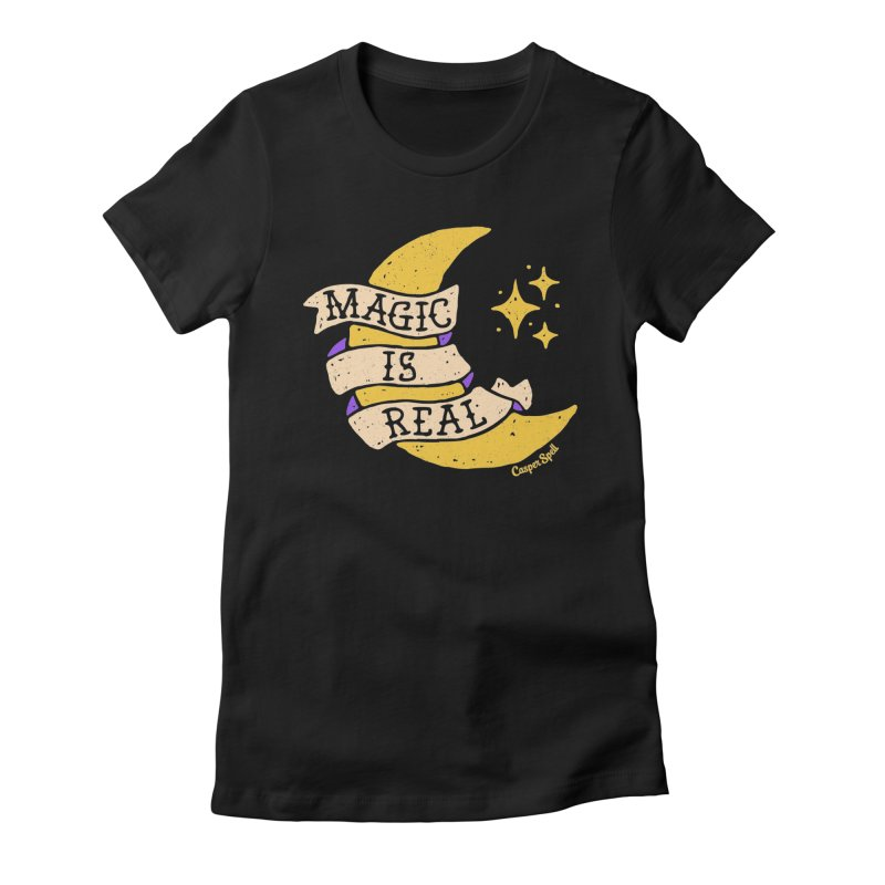 Magic Is Real by Casper Spell Women's T-Shirt by Casper Spell's Shop