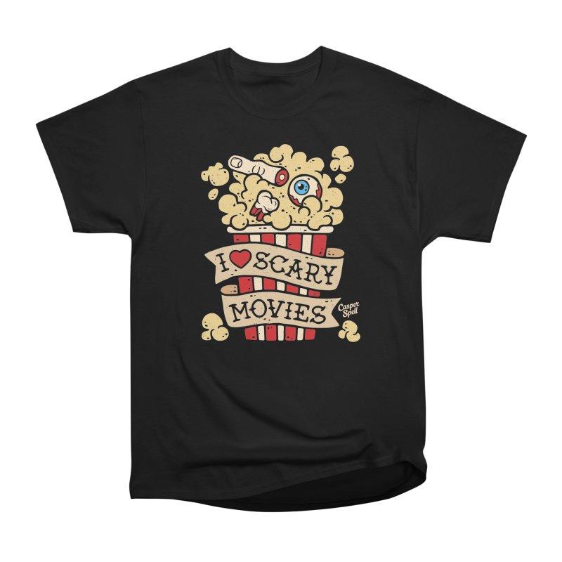 I Love Scary Movies by Casper Spell Women's T-Shirt by Casper Spell's Shop