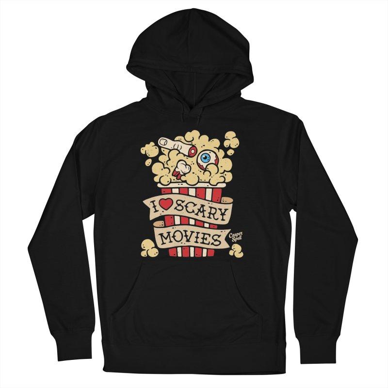 I Love Scary Movies by Casper Spell Women's Pullover Hoody by Casper Spell's Shop