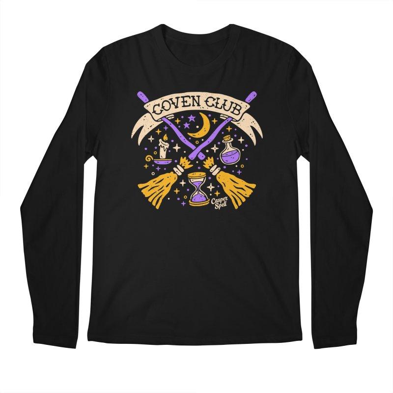 Coven Club by Casper Spell Men's Longsleeve T-Shirt by Casper Spell's Shop