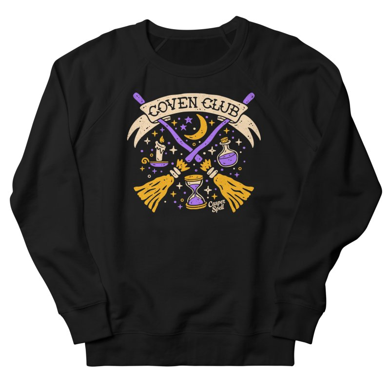 Coven Club by Casper Spell Women's Sweatshirt by Casper Spell's Shop