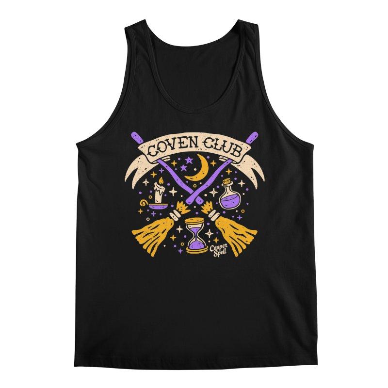 Coven Club by Casper Spell Men's Tank by Casper Spell's Shop