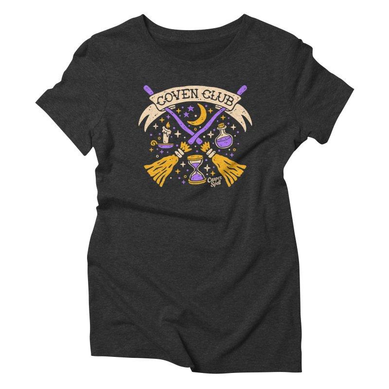 Coven Club by Casper Spell Women's T-Shirt by Casper Spell's Shop