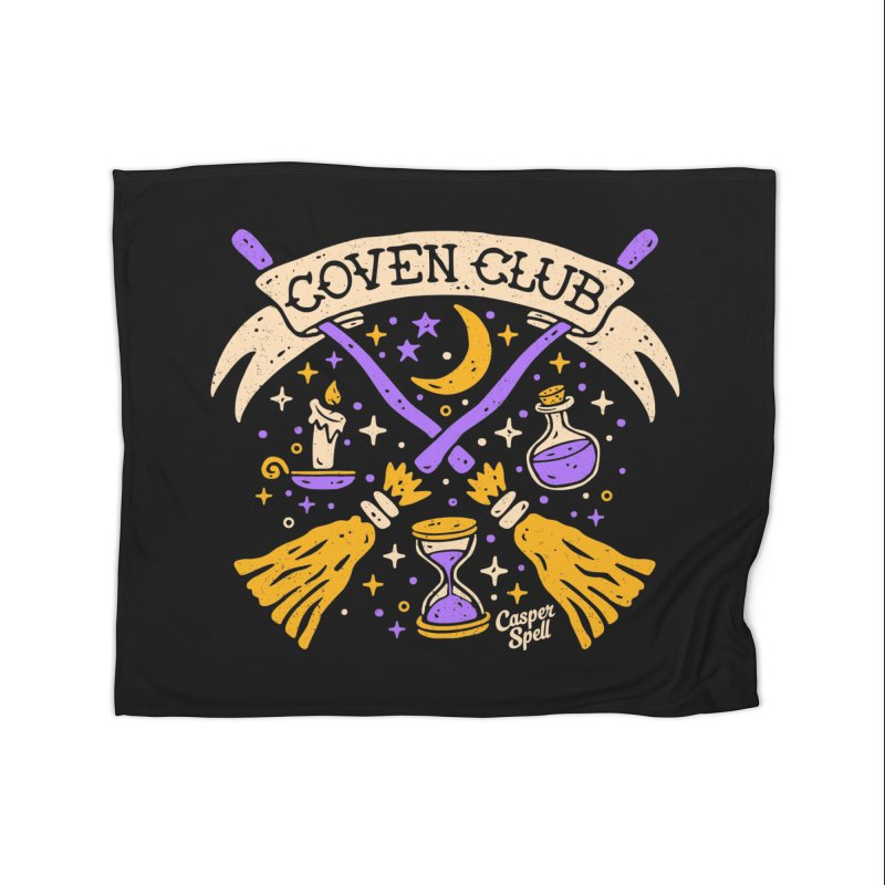 Coven Club by Casper Spell Home Blanket by Casper Spell's Shop