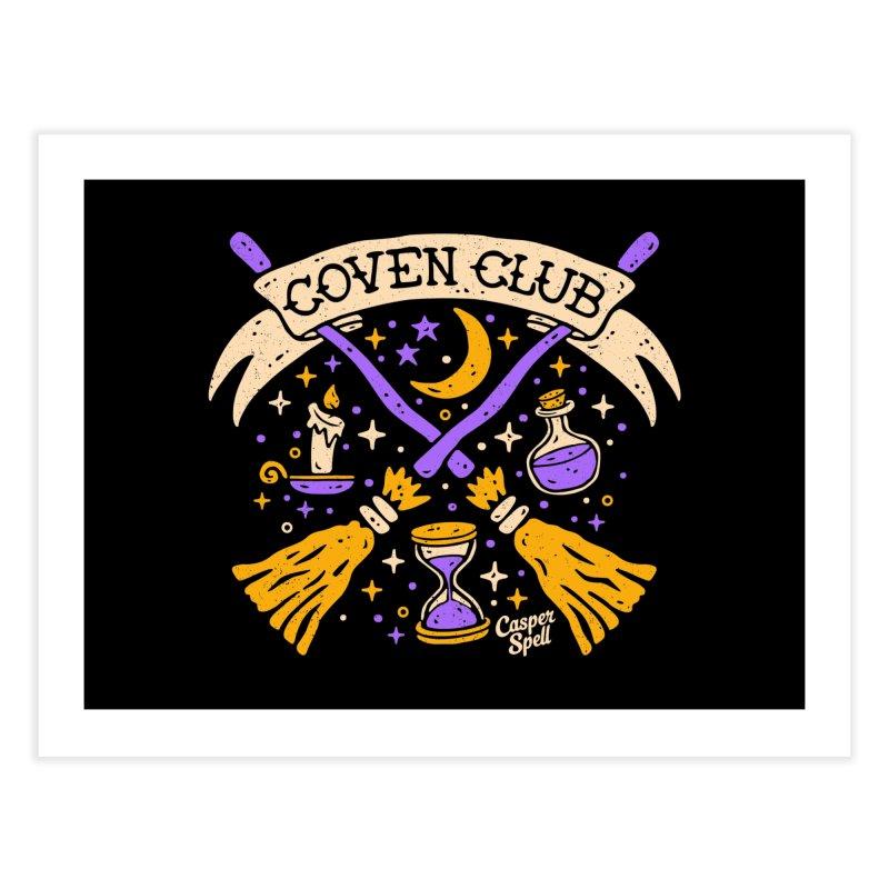 Coven Club by Casper Spell Home Fine Art Print by Casper Spell's Shop