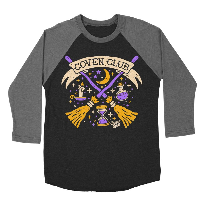 Coven Club by Casper Spell Women's Baseball Triblend Longsleeve T-Shirt by Casper Spell's Shop