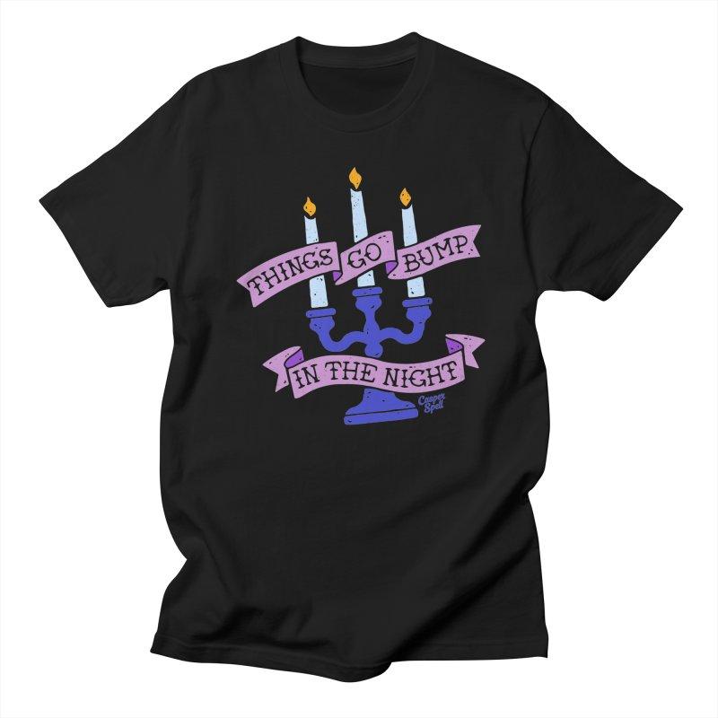 Things Go Bump In The Night Men's T-Shirt by Casper Spell's Shop