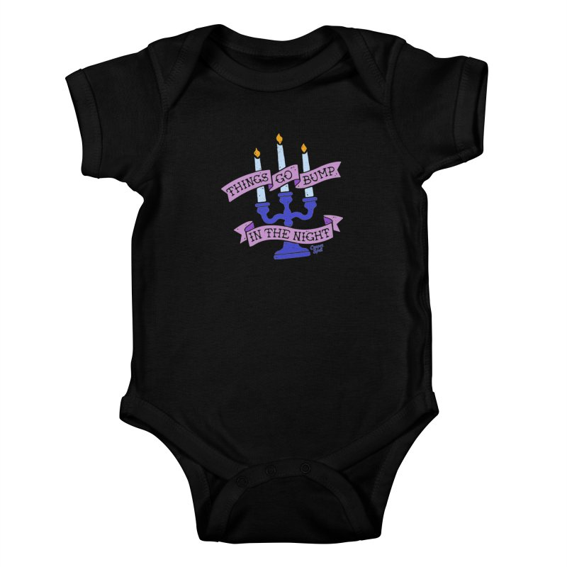 Things Go Bump In The Night Kids Baby Bodysuit by Casper Spell's Shop