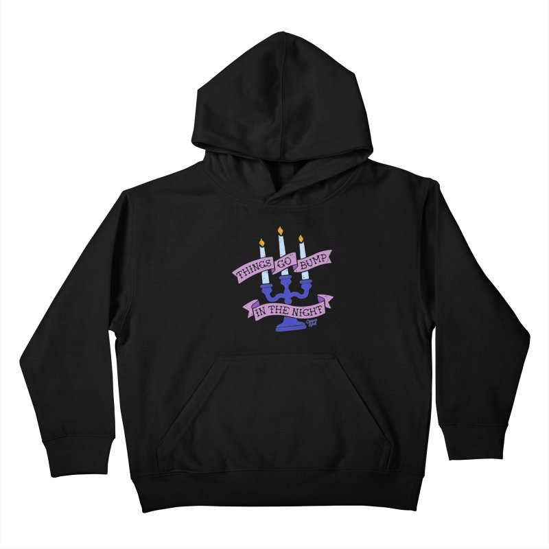 Things Go Bump In The Night Kids Pullover Hoody by Casper Spell's Shop