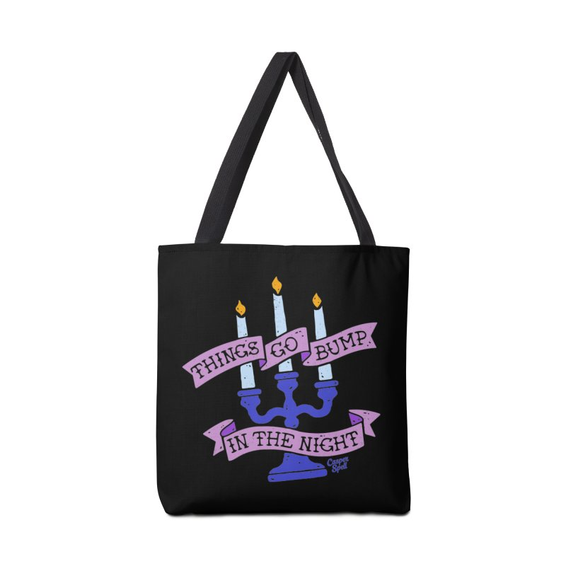 Things Go Bump In The Night Accessories Tote Bag Bag by Casper Spell's Shop