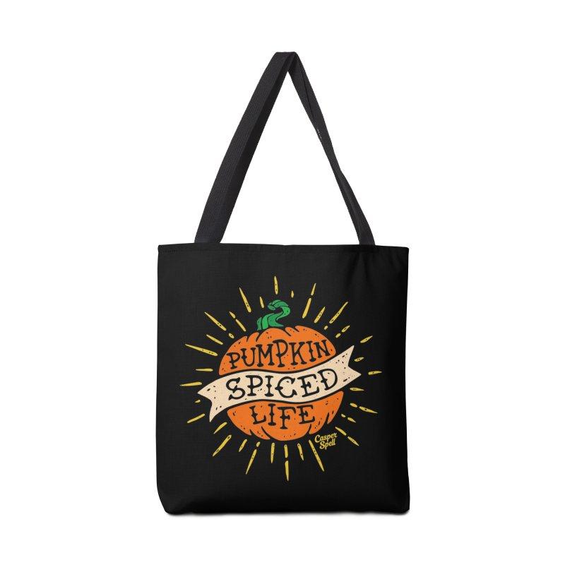 Pumpkin Spiced Life by Casper Spell Accessories Bag by Casper Spell's Shop