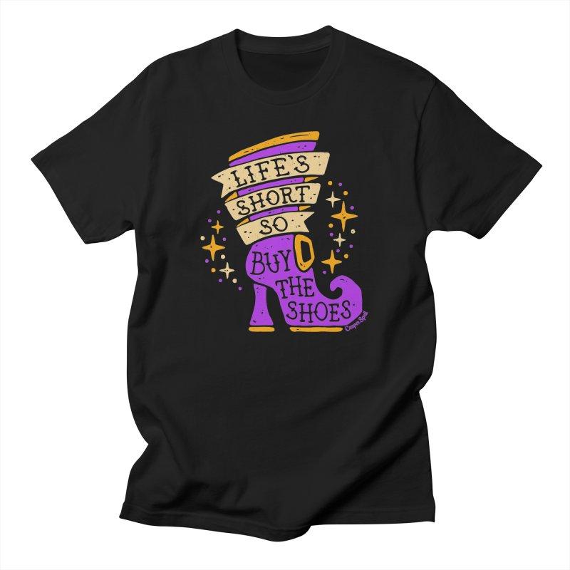 Life's Short So Buy The Shoes Women's T-Shirt by Casper Spell's Shop