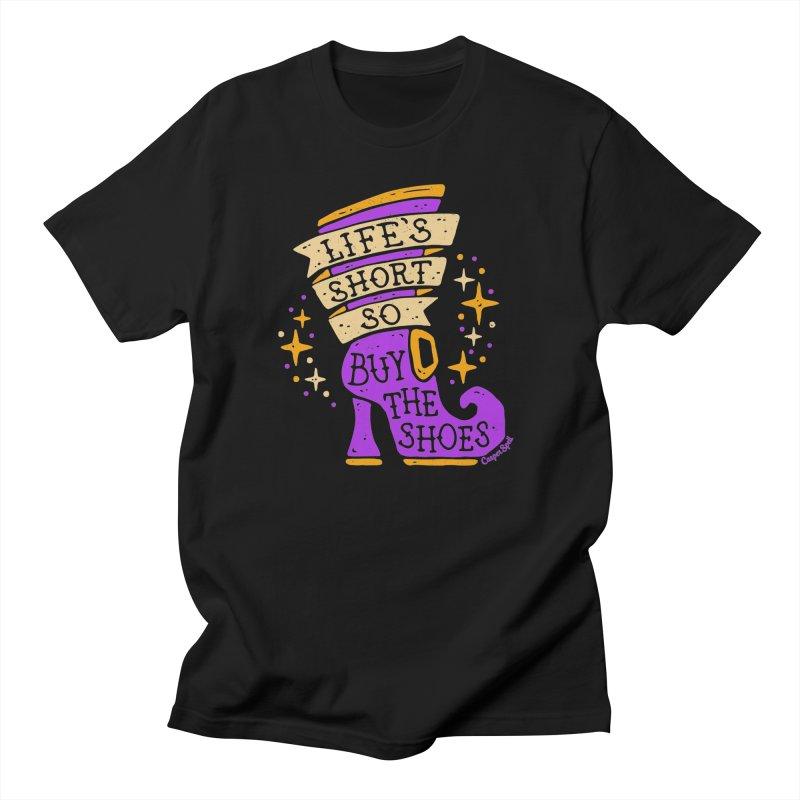 Life's Short So Buy The Shoes Men's T-Shirt by Casper Spell's Shop