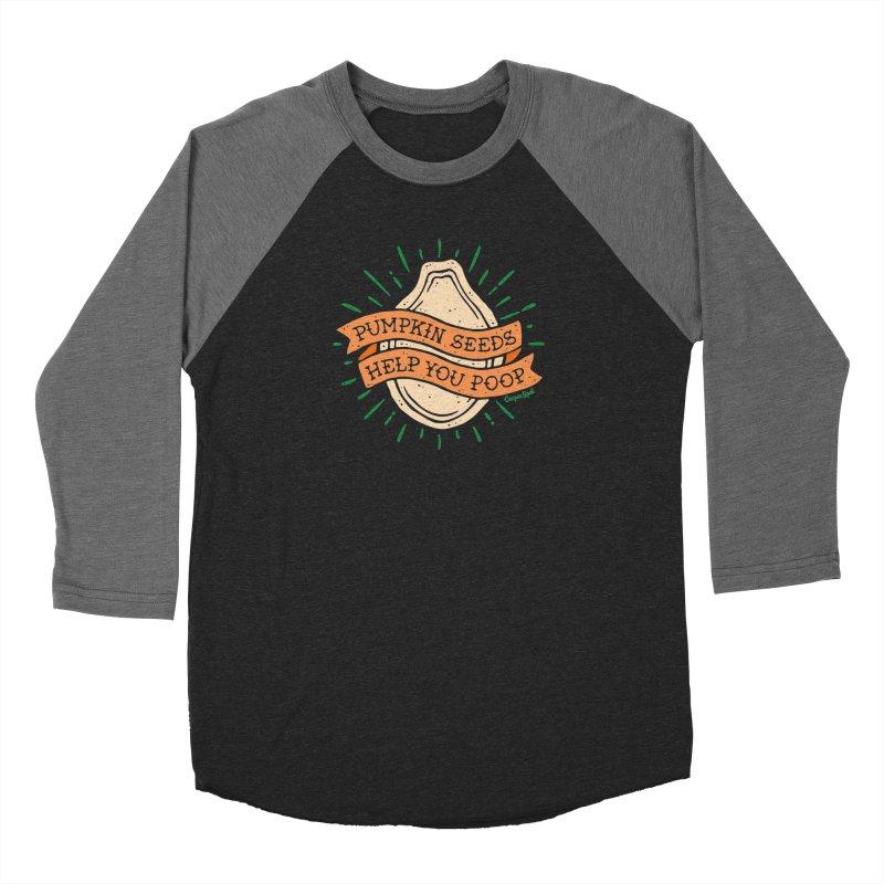 Pumpkin Seeds Help You Poop Men's Longsleeve T-Shirt by Casper Spell's Shop